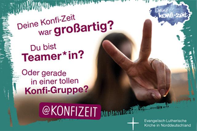 Flyer der Konfi-Zeit-Clip-Challenge